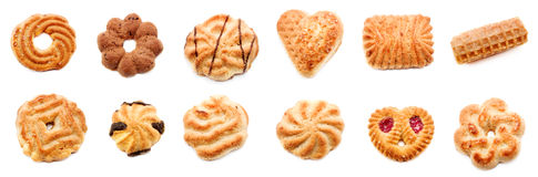 Variety of cookies Royalty Free Stock Photo