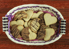 Variety of Cookies II Royalty Free Stock Images