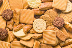 Variety of cookies Stock Photo