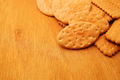 Variety of Cracker and biscuit Royalty Free Stock Photography
