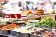 Variety of cuisines of various nations Royalty Free Stock Photo