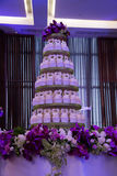 Variety of cupcakes from a dessert buffet at a wedding Stock Photo