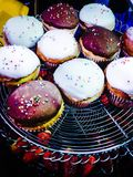 Variety Cupcakes Royalty Free Stock Photography