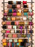 Variety of decorative colorful ribbons Stock Photography
