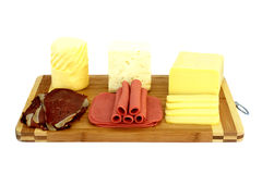 Variety of Delicatessen Products Stock Images