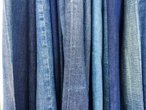 Variety of Denim Royalty Free Stock Photo