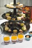 Variety of desserts at event party or wedding Stock Images