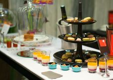 Variety of desserts at event party or wedding Royalty Free Stock Photography