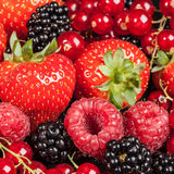 Variety of different berries Royalty Free Stock Images