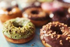Variety of donuts Stock Photo