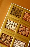 Dry Fruits in a box royalty free stock photo