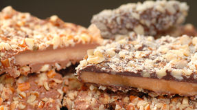 Variety of English Toffee Royalty Free Stock Photography