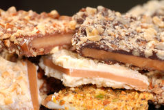 Variety of English Toffee Royalty Free Stock Image