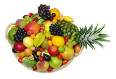 Variety of Exotic Fruits Stock Photo