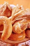 Variety of fresh bread Stock Image