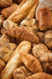 Variety of fresh bread and pastry Stock Image