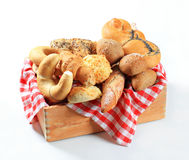 Variety of fresh bread Royalty Free Stock Photo