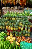 Variety of Fresh Fruit to Sell in Market in Santander, Colombia royalty free stock images