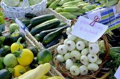 Variety of fresh produce Stock Image