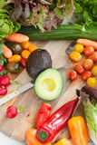 Variety of fresh vegetables Royalty Free Stock Photo