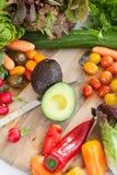 Variety of fresh vegetables Royalty Free Stock Photo