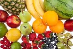 Variety of fruit stock image