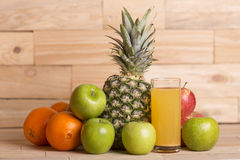 Variety of fruits Royalty Free Stock Photos