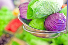 Variety of fruits and vegetables Royalty Free Stock Image