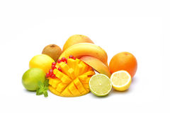 Variety of fruits Royalty Free Stock Image