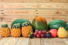 Variety of fruits Stock Photo