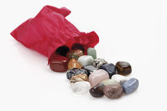 Variety of gemstones Royalty Free Stock Images