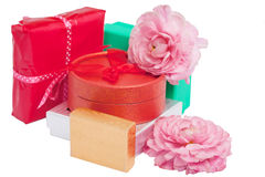 Variety of gifts Royalty Free Stock Images