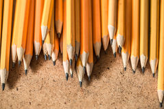 A variety of graphite pencils Stock Photography