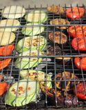 A variety of grilled vegetables Stock Photography