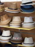 Variety of hats. Royalty Free Stock Image