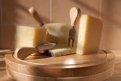 Italian cheeses Stock Photos