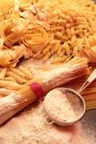 Variety of italian pasta Royalty Free Stock Photography