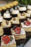 Variety of italian pastry Stock Image