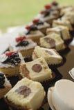 Variety of italian pastry Royalty Free Stock Photos