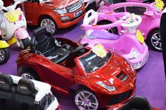 Variety of Kids Car Royalty Free Stock Photo