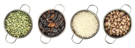 Variety of legumes Stock Photography
