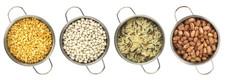 Variety of legumes royalty free stock images