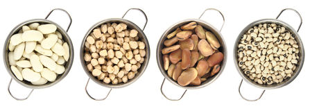 Variety of legumes Royalty Free Stock Photo