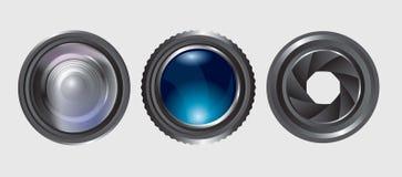 Variety lenses Stock Image