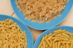 Variety of macaroni Royalty Free Stock Photos