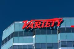 Variety Magazine Los Angeles Headquarters Stock Images