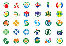 Variety marks. Some kind of signs and symbols vector illustration