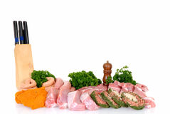Variety of meat Stock Images