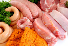 Variety of meat Royalty Free Stock Photo