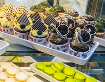 Variety mix dessert Royalty Free Stock Images